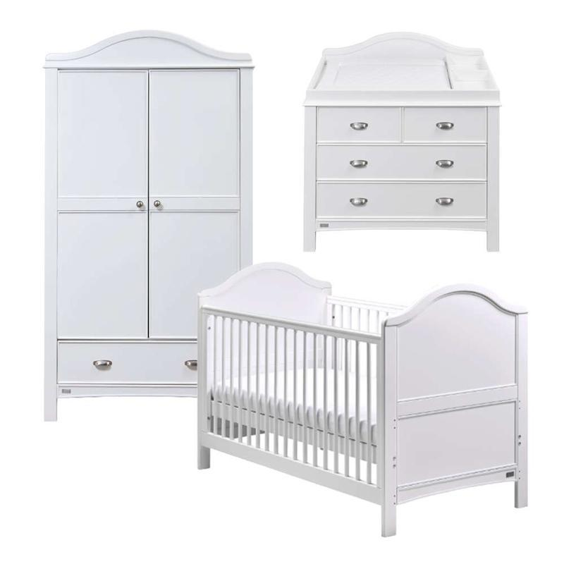 East Coast cot bed room sets East Coast Toulouse 3 Piece Roomset 9045RS