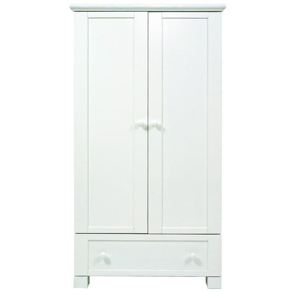 East Coast nursery wardrobes East Coast Montreal Wardrobe White 5002W