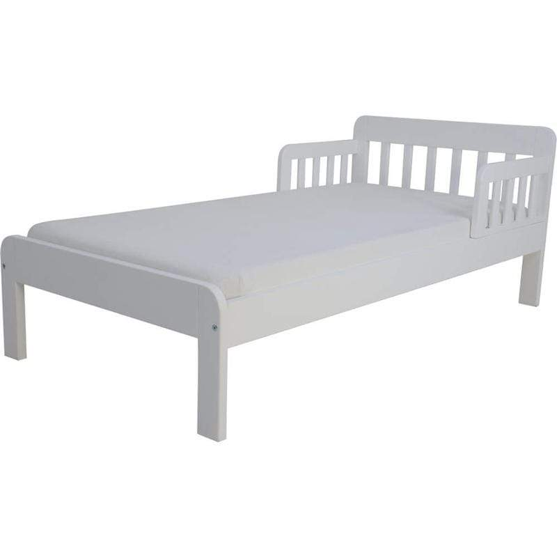 East Coast single beds East Coast Dakota Toddler Bed White 8971