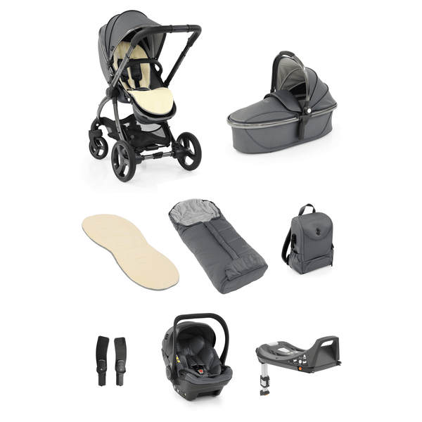 egg baby prams egg2 Luxury Bundle Special Edition Jurassic Grey 7715-JUR-GRY
