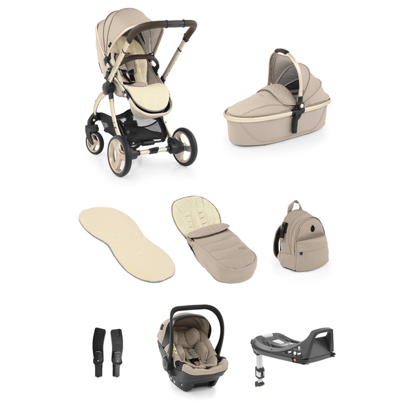 egg baby prams egg2 Luxury Bundle Feather 7707-FE