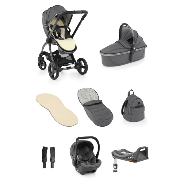 egg baby prams egg2 Luxury Bundle Quartz 7712-QU