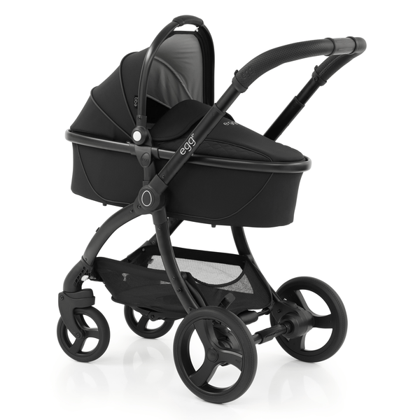 egg baby prams egg2 Pram Special Edition Just Black 7706-JUS-BLK