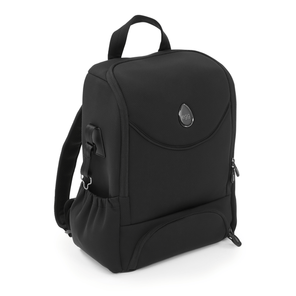 egg changing bags egg2 Changing Backpack Special Edition Just Black E2BPJB