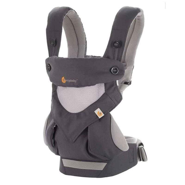 Ergobaby baby carriers Ergobaby 360 Cool Air Baby Carrier Carbon Grey BC360PBLKGRY