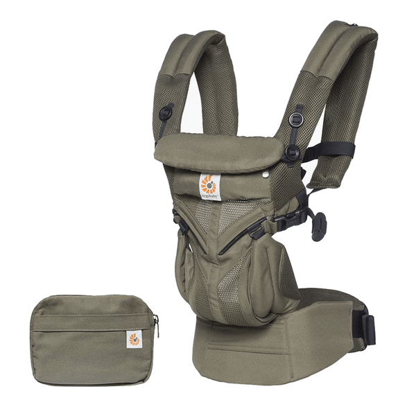 Ergobaby baby carriers Ergobaby Omni 360 Cool Air Baby Carrier Khaki Green BCS360PGREEN