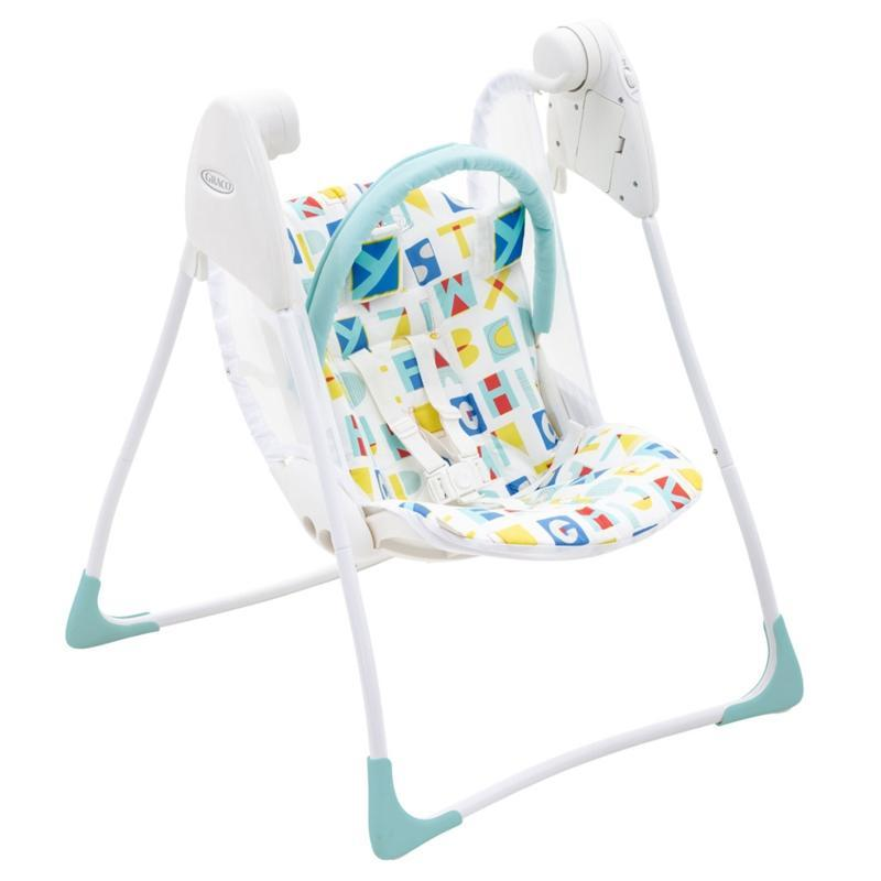 Graco baby swings Graco Baby Delight Swing Block Alphabet 1H95BABEU