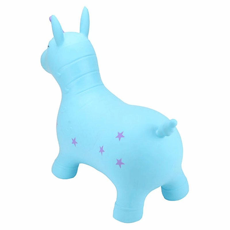 Happy Hopperz rocking animals Happy Hopperz Turquoise Unicorn HHZ007
