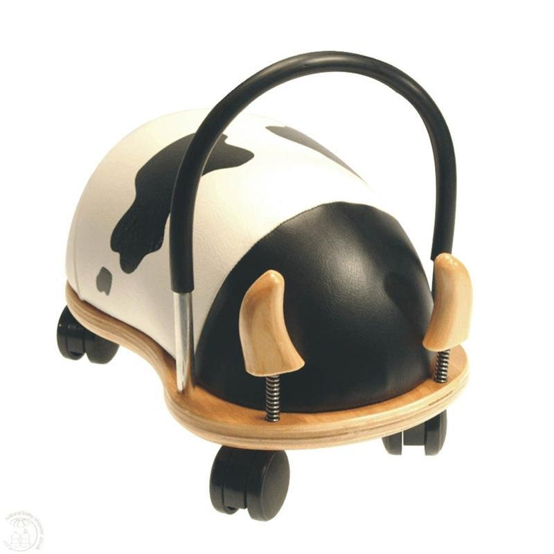 Hippychick push along toys Hippychick Wheelybugs Small Cow WBCOWS