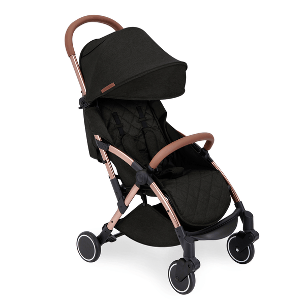 Ickle Bubba baby pushchairs Ickle Bubba Globe Pushchair Rose Gold/Black 15-001-100-043