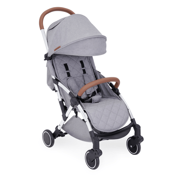 Ickle Bubba baby pushchairs Ickle Bubba Globe Pushchair Silver/Grey 15-001-100-056