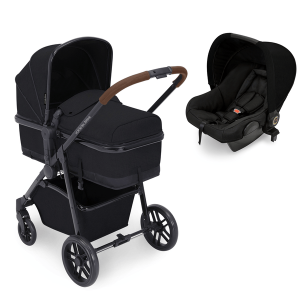 Ickle Bubba travel systems Ickle Bubba Moon Astral Travel System Tan/Black 10-005-101-003