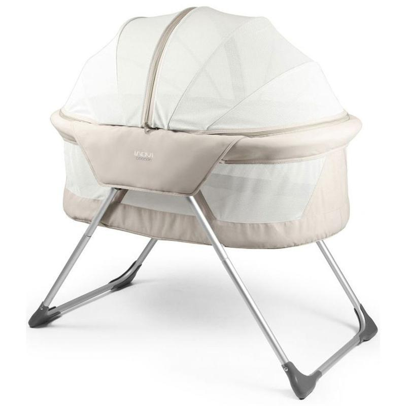 Inovi travel cots Inovi Cocoon Travel Cot Sand 15-44-001