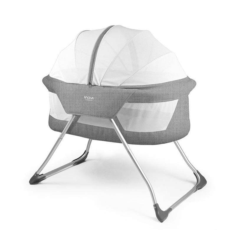 Inovi travel cots Inovi Cocoon Travel Cot Grey 16-44-001