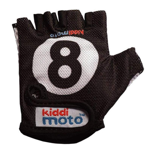Kiddimoto bikes & trikes Kiddimoto Small Gloves 8 Ball GLV006S