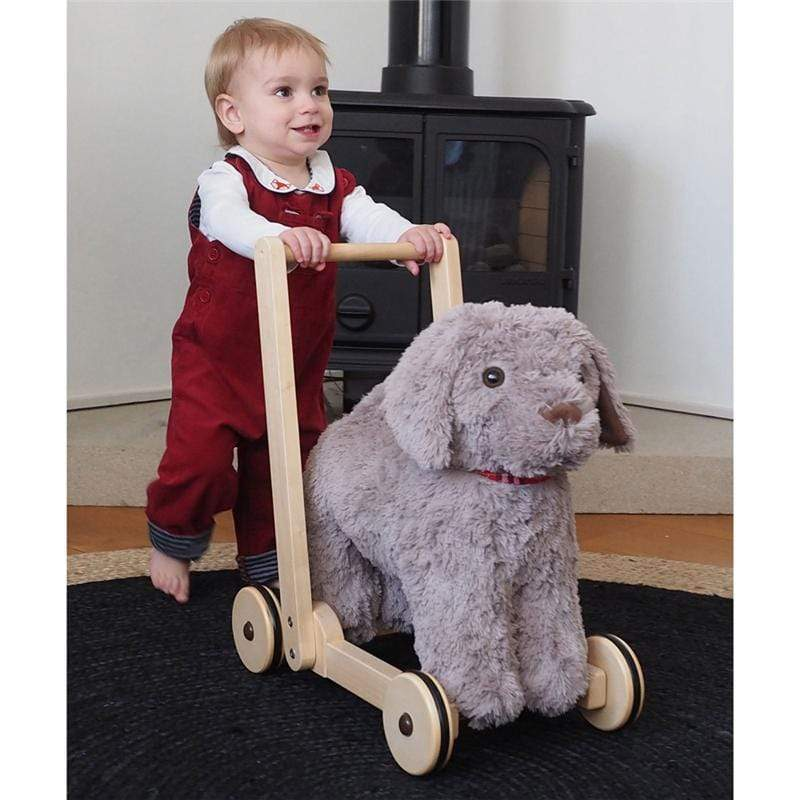 Little Bird Told Me push along toys Little Bird Told Me Bailey Dog Push Along 12m+ LB3085