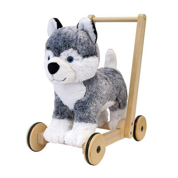 Little Bird Told Me push along toys Little Bird Told Me Mishka Dog Push Along 12m+ LB3087