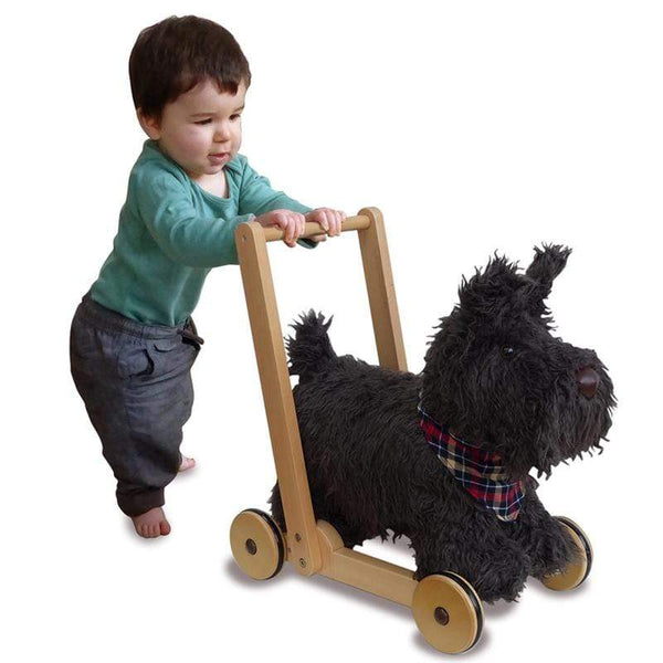 Little Bird Told Me push along toys Little Bird Told Me Scotty Dog Push Along 12m+ LB3053