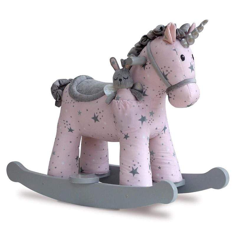 Little Bird Told Me rocking animals Little Bird Told Me Celeste & Fae Rocking Unicorn 9m+ LB3074
