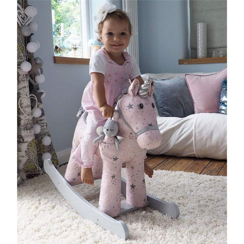 Little Bird Told Me rocking horses Little Bird Told Me Celeste & Fae Rocking Unicorn 12m+ LB3076