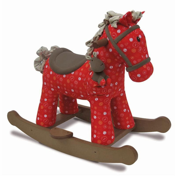 Little Bird Told Me rocking horses Little Bird Told Me Doodle & Crumb Rocking Horse 9m+ LB3030