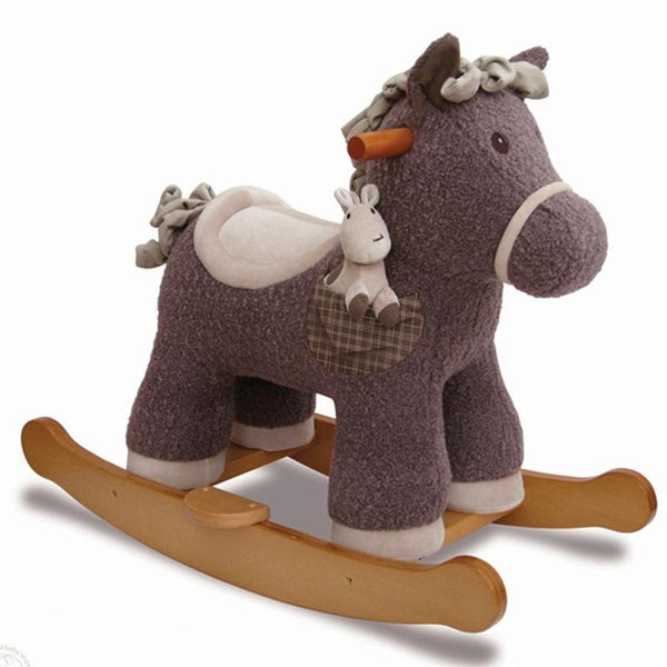 Little Bird Told Me toddler toys Little Bird Told Me Bobble & Pip Rocking Horse 9m+ LB3027