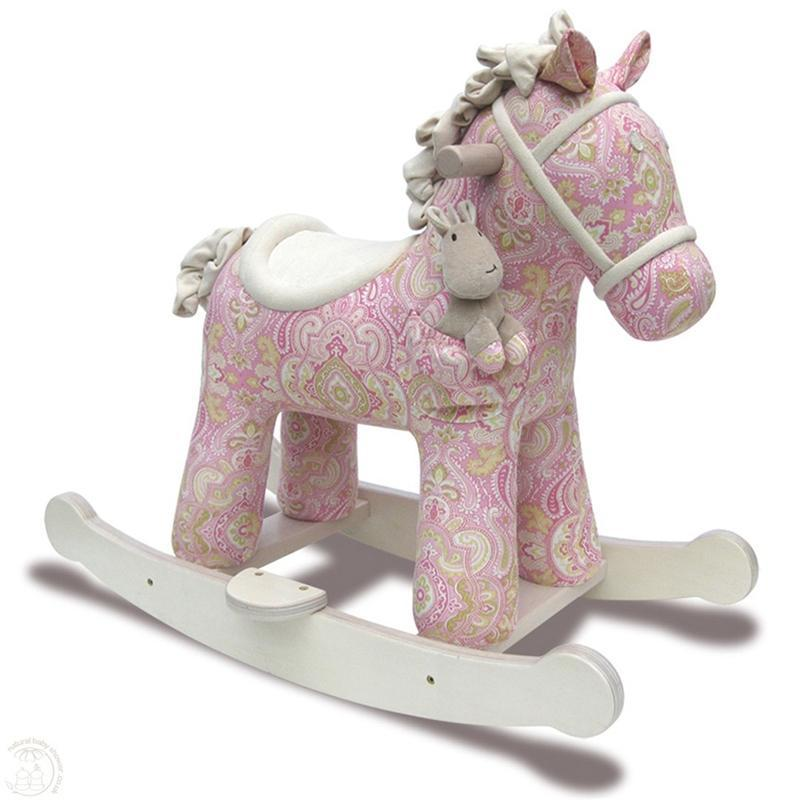 Little Bird Told Me toddler toys Little Bird Told Me Pixie & Fluff Rocking Horse 9m+ LB3022