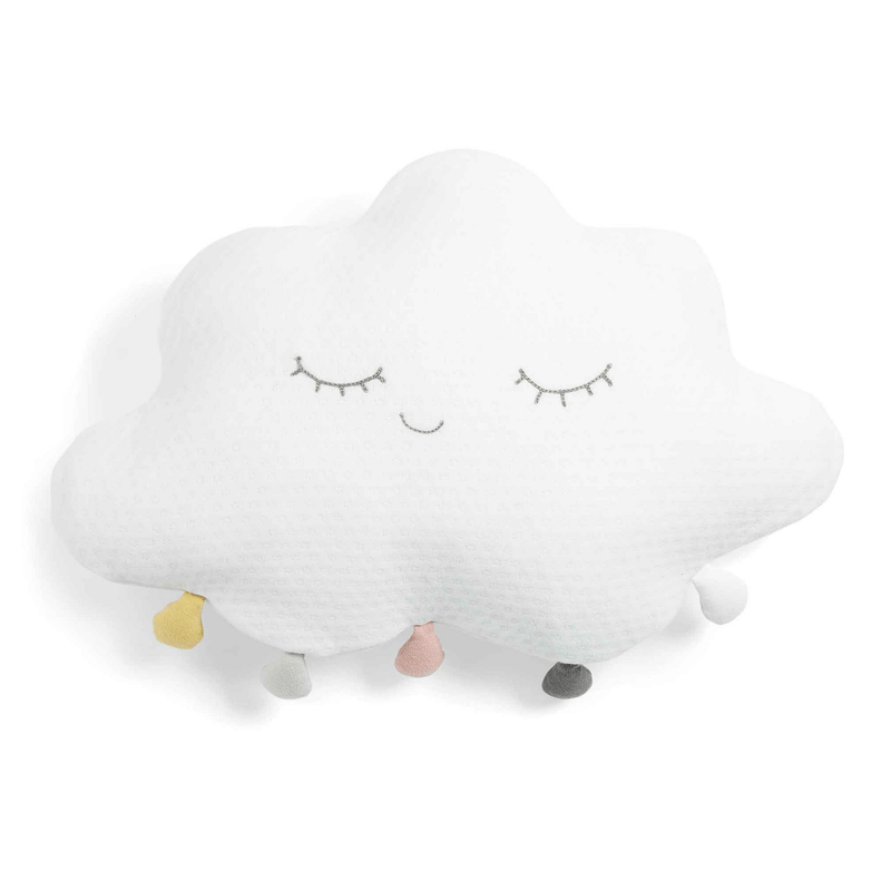 Mamas & Papas Baby Gifts Mamas & Papas Cushion White Pom Pom Cloud 753202700