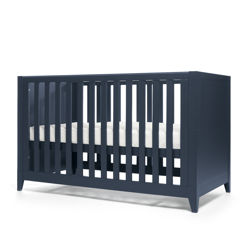 Mamas & Papas cot bed room sets Mama & Papas Melfi 2 Piece Cotbed Roomset Midnight Blue SMMLHM900