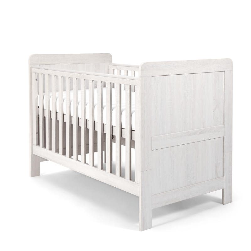 Mamas & Papas cot bed room sets Mamas & Papas Atlas 3 Piece Roomset Nimbus White