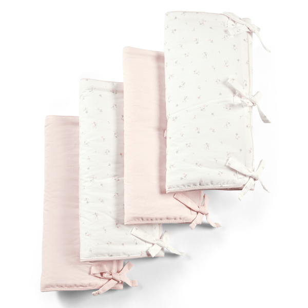 Mamas & Papas cot mattresses Mamas & Papas Welcome To The World 4pk Cot Bar Covers Floral 7742WW301