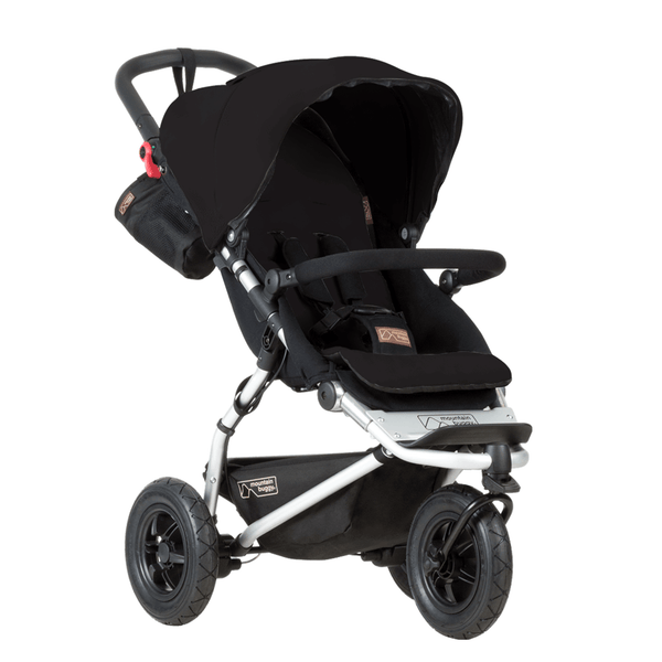 Mountain Buggy 3 wheel pushchairs Mountain Buggy New Swift 3.2 Pushchair Black SW1-V3.2-5
