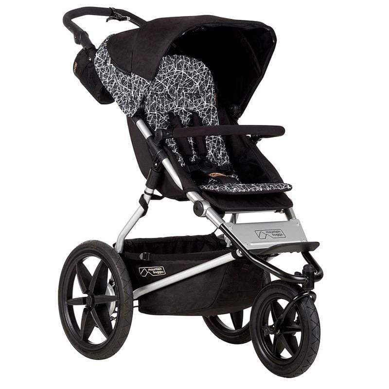 Mountain Buggy 3 wheel pushchairs Mountain Buggy Terrain 3 Graphite TER-V3-65