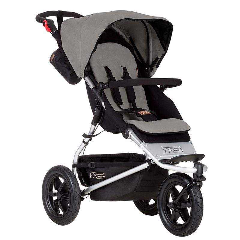 Mountain Buggy 3 wheel pushchairs Mountain Buggy Urban Jungle Pushchair Silver UJ-V3-6