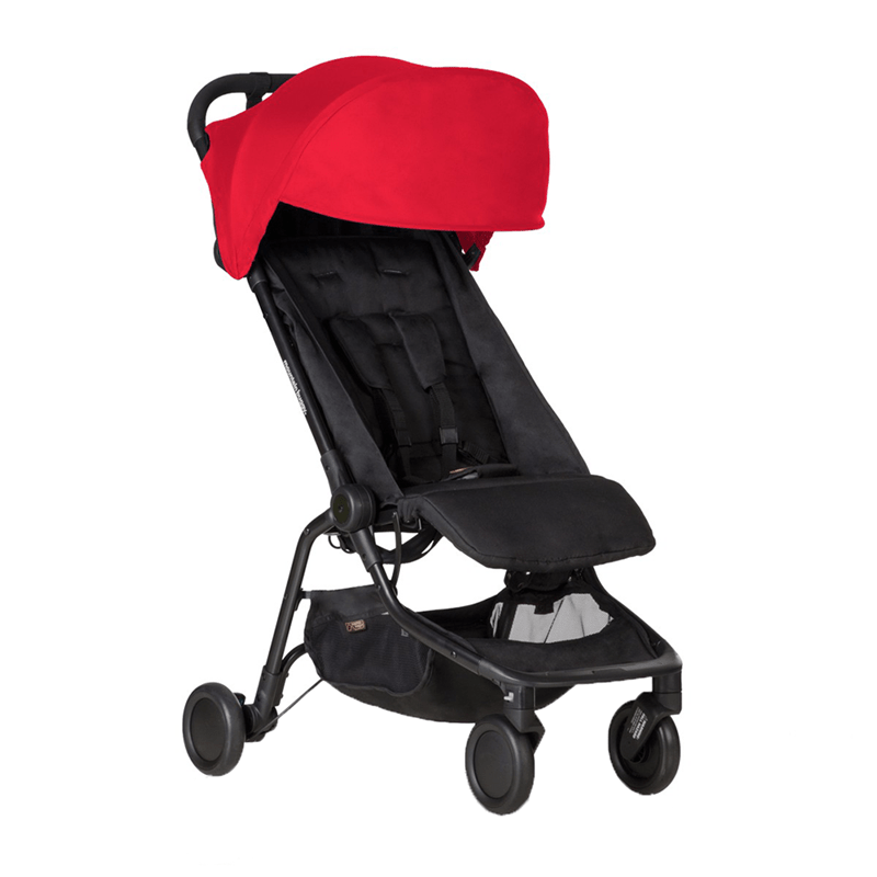Mountain Buggy baby pushchairs Mountain Buggy Nano V2 Stroller Ruby MB2-V2-11