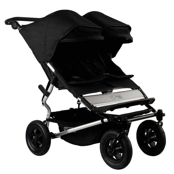 Mountain Buggy double buggies Mountain Buggy Duet V3 Double Pushchair Black DUET-V3-5