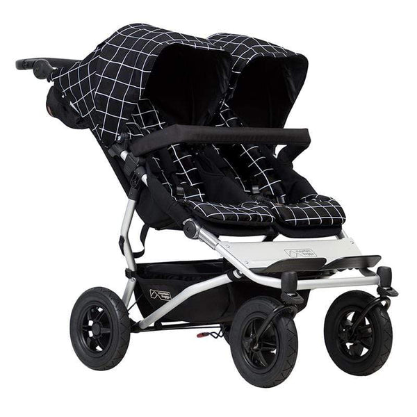 Mountain Buggy double buggies Mountain Buggy Duet V3 Double Pushchair Grid DUET-V3.2-59
