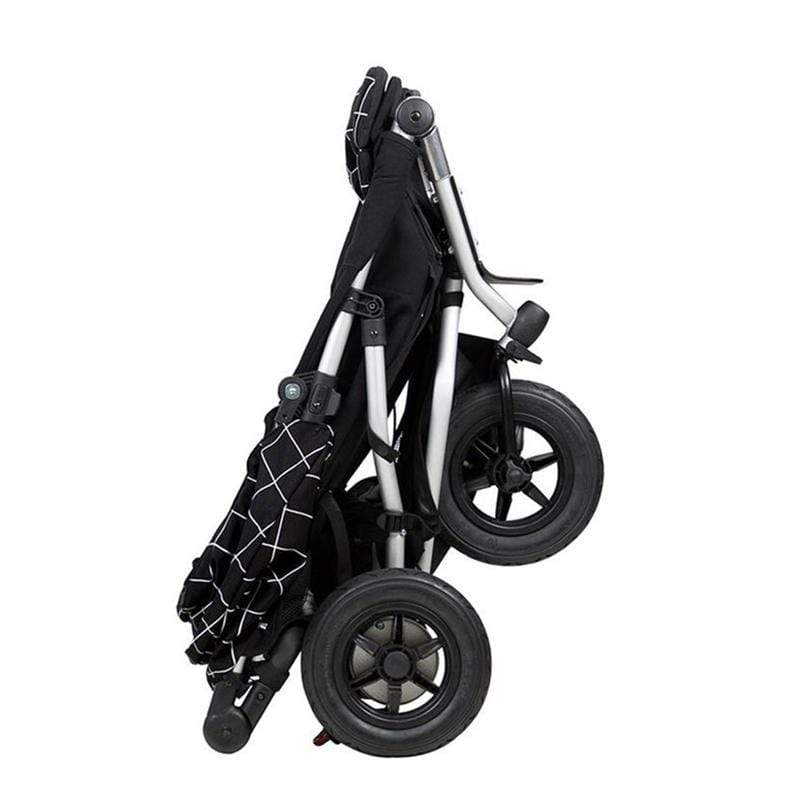 Mountain Buggy double buggies Mountain Buggy Duet V3 Double Pushchair Grid DUET-V3-59
