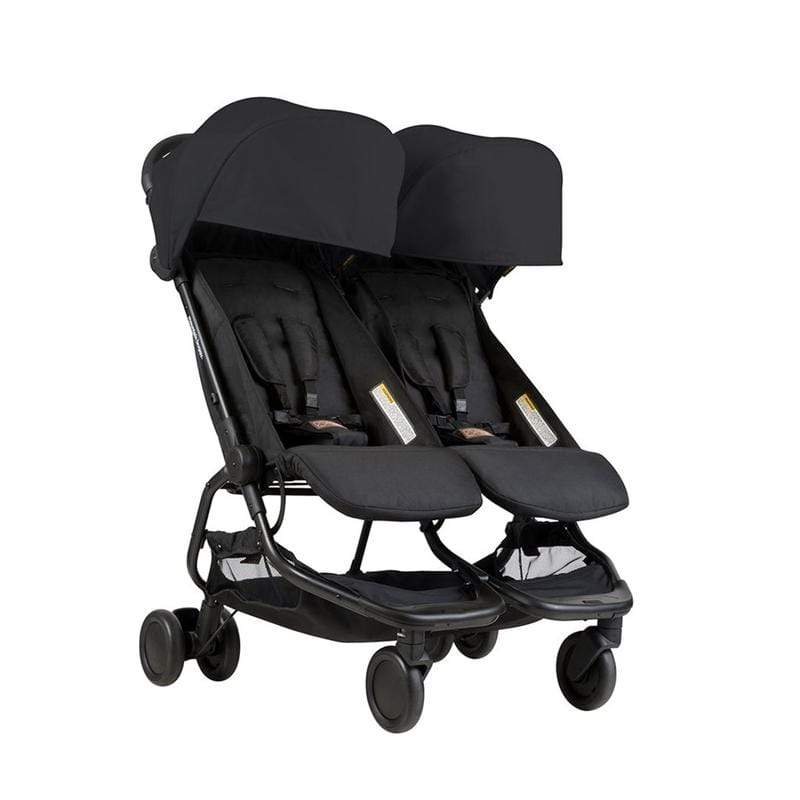 Mountain Buggy double buggies Mountain Buggy Nano Duo Double Black NANDUO-V1-5