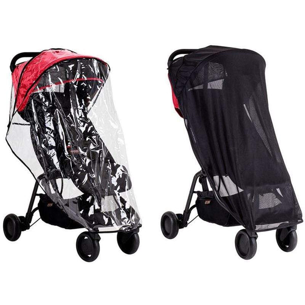 Mountain Buggy raincovers Mountain Buggy Nano All Weather Sun & Storm Covers MB2-NAC