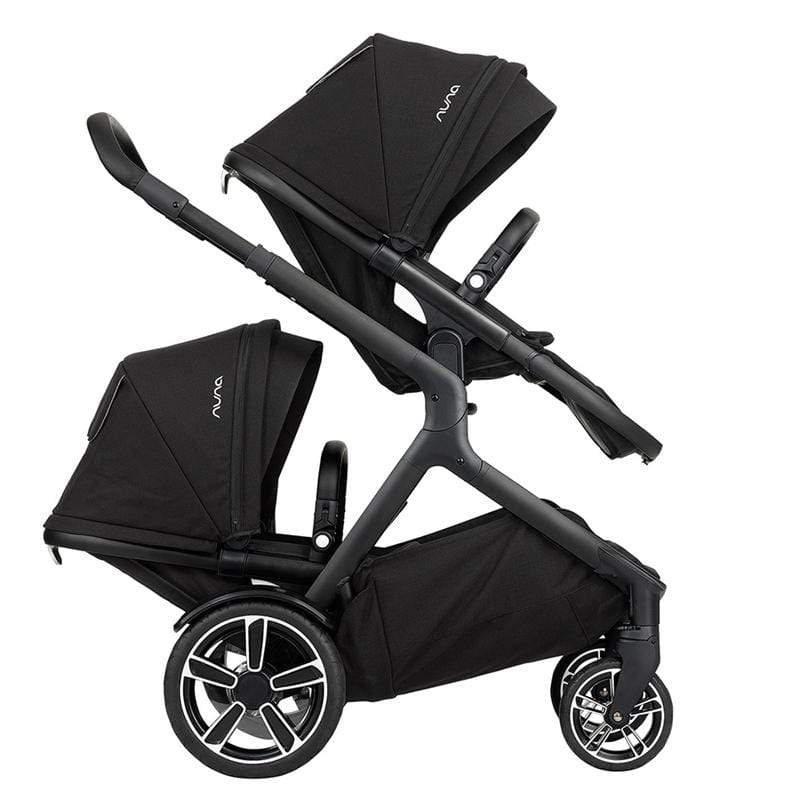 Nuna double buggies Nuna Demi Grow Tandem Pushchair Caviar FT9X9R8
