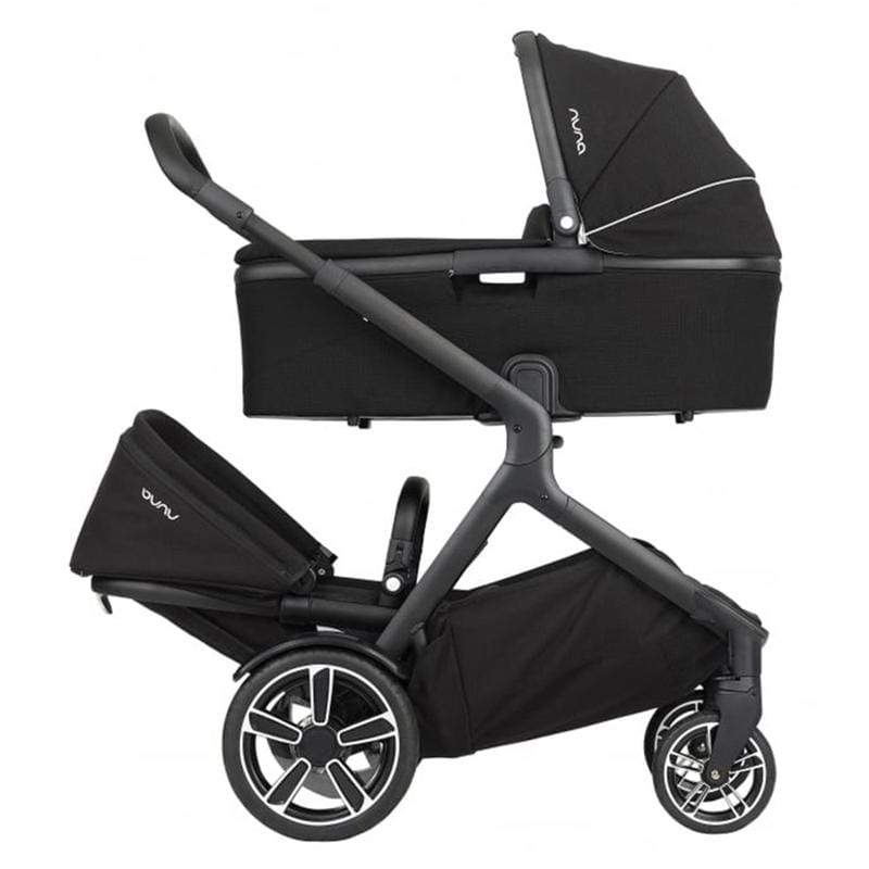 Nuna double buggies Nuna Demi Grow Twin Bundle Pushchair Caviar VZP8RUZ