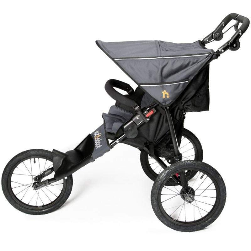 Out n About 3 wheel pushchairs Out n About Nipper Sport V4 Pushchair Steel Grey/Black NIPSP-01SGV4