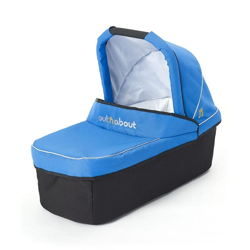 Out n About baby carrycots Out n About Nipper Carrycot Lagoon Blue CC-01LB