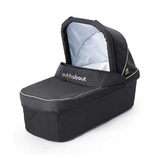 Out n About baby carrycots Out n About Nipper Carrycot Raven Black CC-01RB