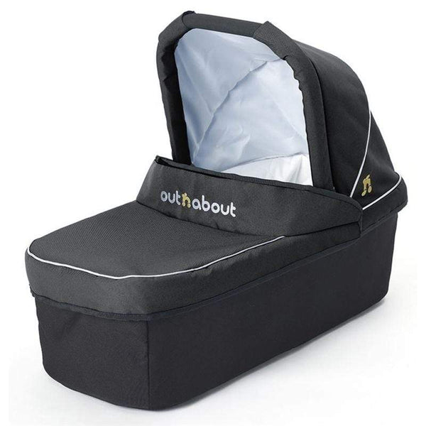 Out n About baby carrycots Out n About Nipper Double Carrycot Raven Black CC-02RB