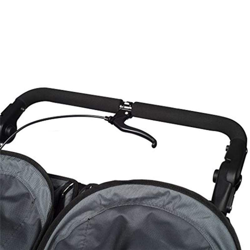 Out n About double buggies Out N About Nipper Sport Double V4 Steel Grey NIPSP-02SGV4