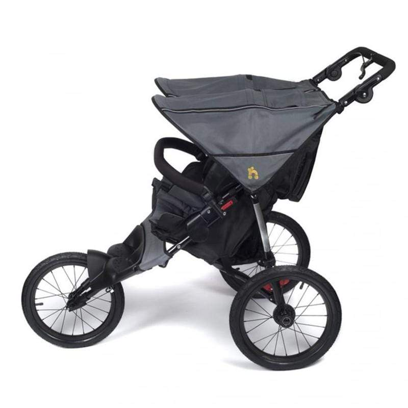 Out n About double pushchairs Out N About Nipper Sport Double V4 Steel Grey NIPSP-02SGV4