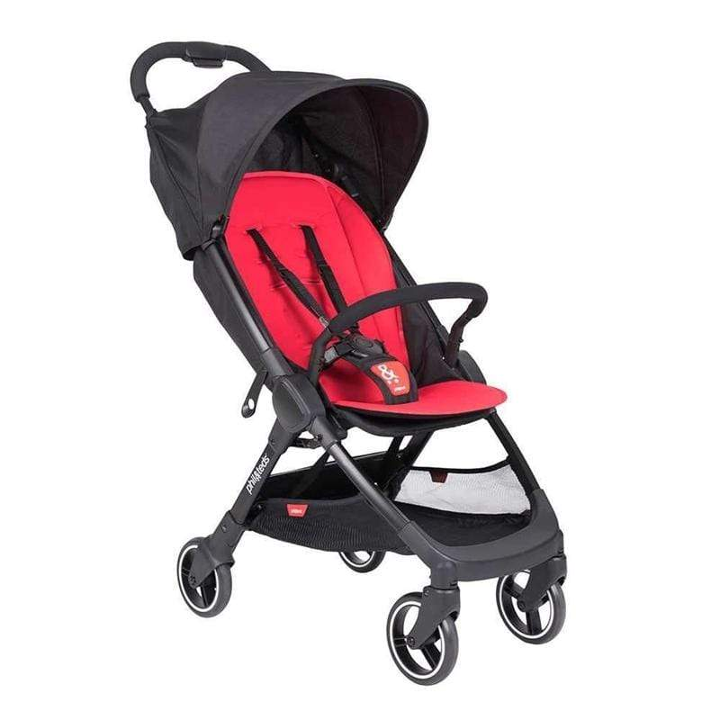 Phil & Teds baby pushchairs Phil & Teds go Stroller Cherry GO-V1-19