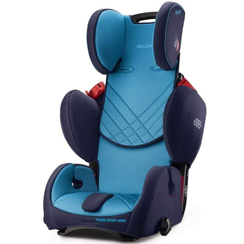 Recaro combination car seats Recaro Young Sport Hero Xenon Blue 6203.21504.66